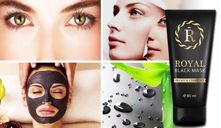 black mask punti neri  Royal Black Mask: maschera anti punti neri, acne e brufoli ...