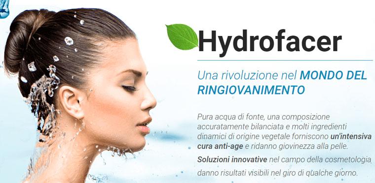 effetti di hydrofacer