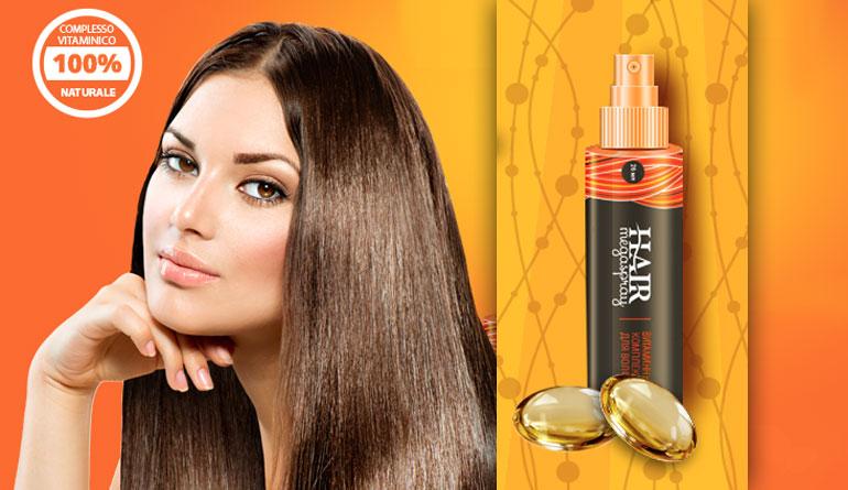Hair MegaSpray: trattamento per caduta capelli e doppie ...