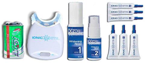 kit confezione ionic white