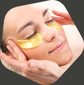applicazione di charm eye patch