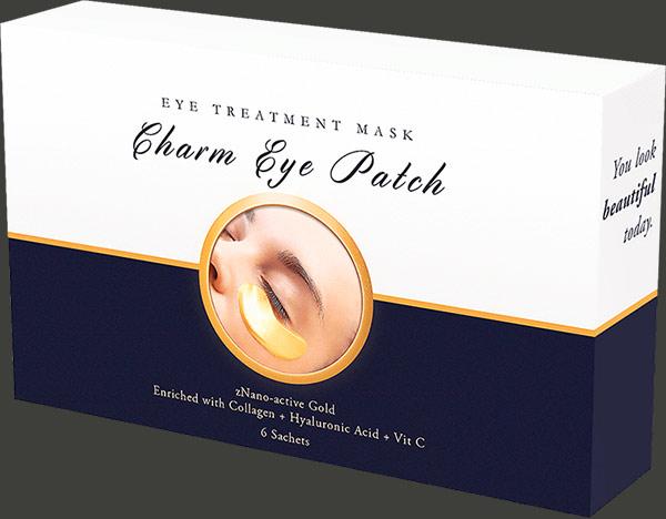 confezione di charm eye patch