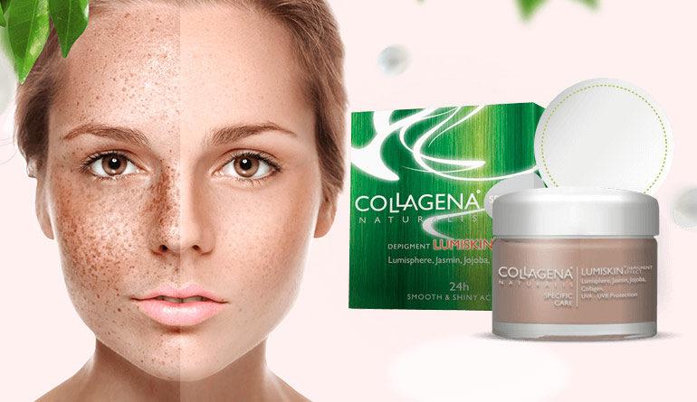 A pigmentazione di livello e un sollievo di pelle di faccia