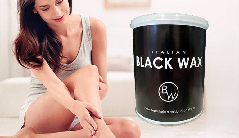 la rivoluzionaria cera black wax senza dolore